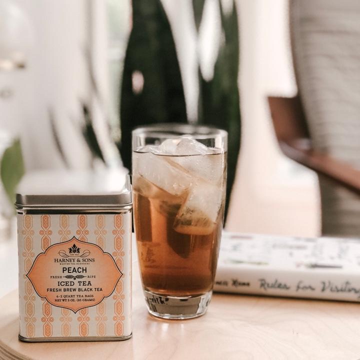 Summer favourite: fresh brew iced tea athome
