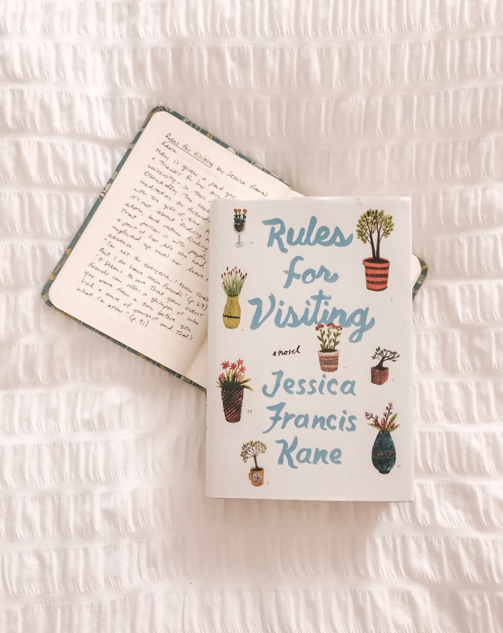Book review: Rules for Visiting by Jessica Francis Kane