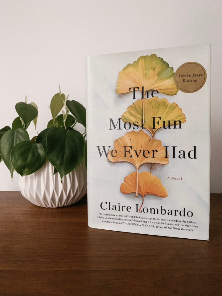 Book review: The Most Fun We Ever Had by Claire Lombardo